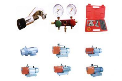 割刀,高低压双压力表,扩管器,真空泵